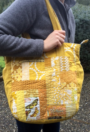 My First Super Tote- Scrappy!