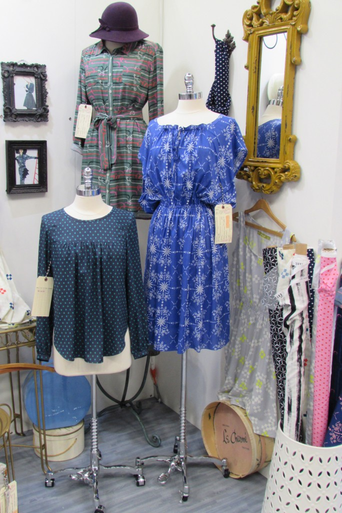 Cotton & Steel Quilt Market Booth- New Rayon Fabrics