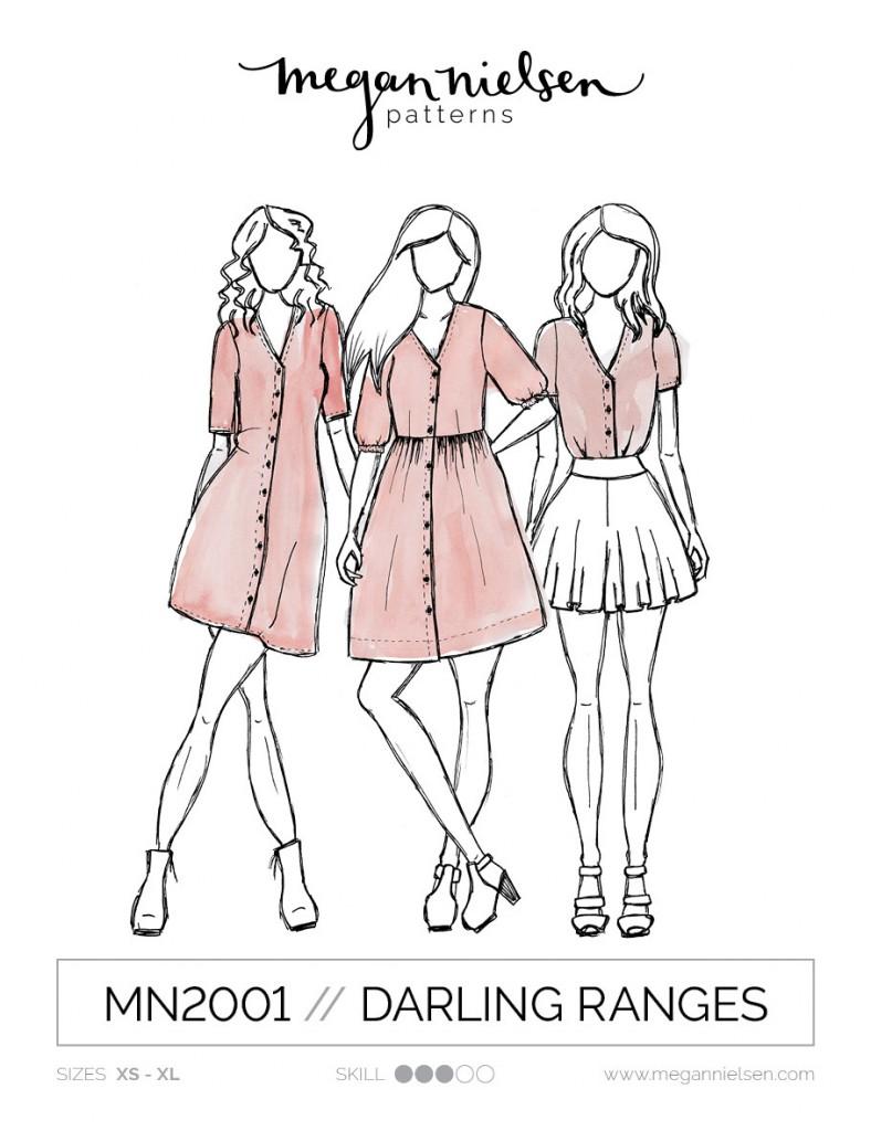 Darling Ranges dress pattern from Megan Nielsen
