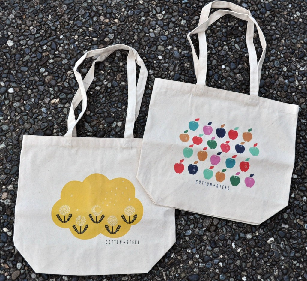 Cotton & Steel Limited Edition Canvas Totes