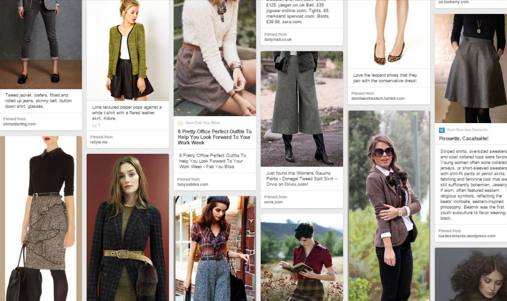 Scholarly Chic Inspiration on Pinterest
