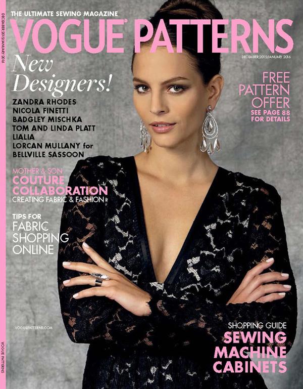 Vogue Patterns Magazine Dec15/Jan16 Issue