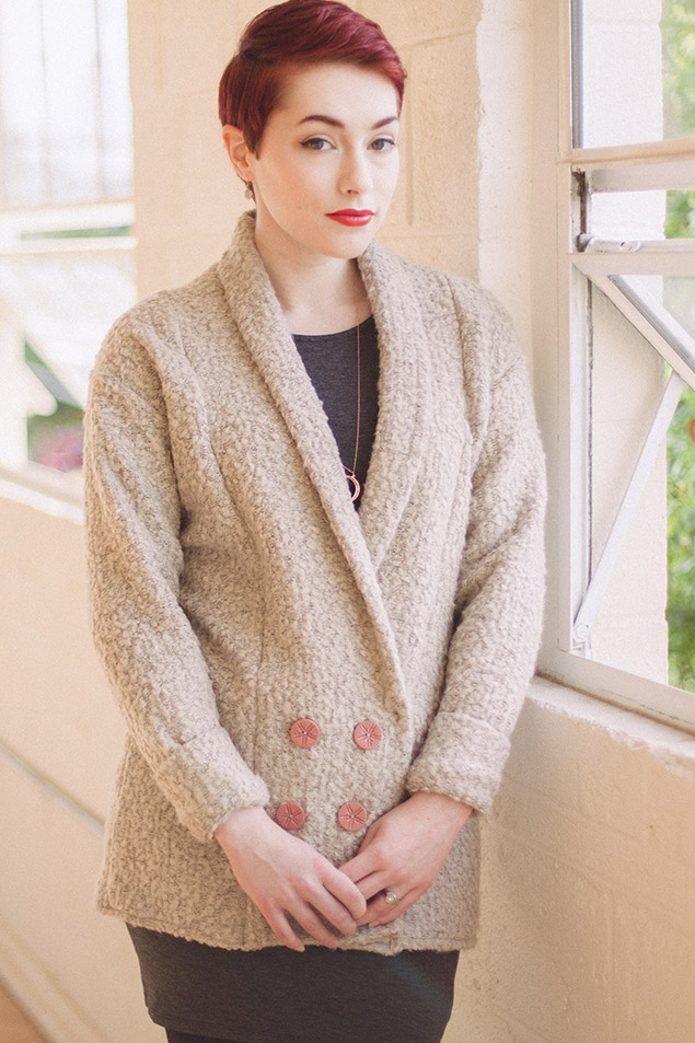Oslo Cardigan from Seamwork Issue #1