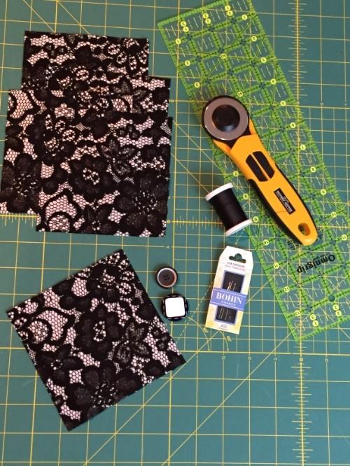 Fabric Brooch Supplies