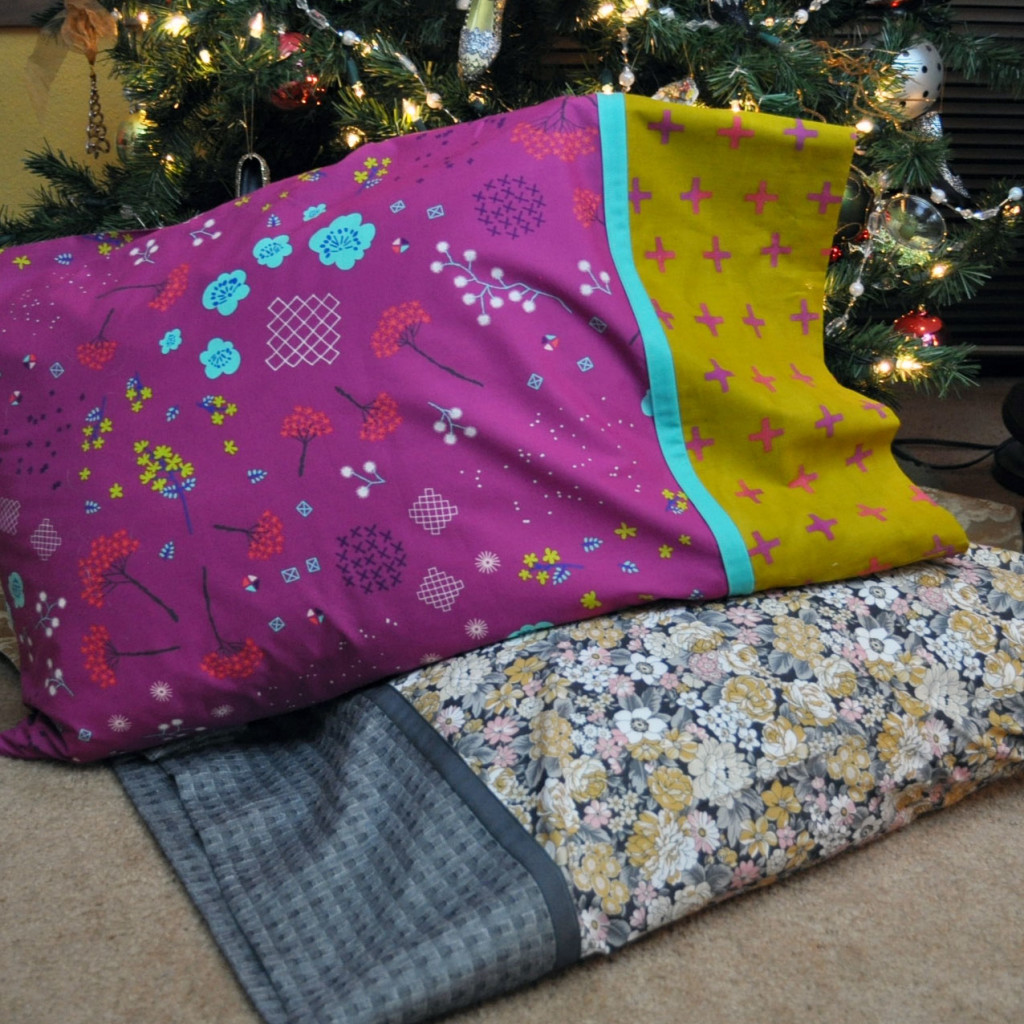 Our Handmade Pillowcases