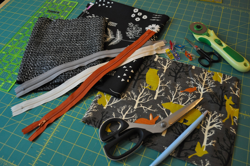 Zipper Pouch Supplies