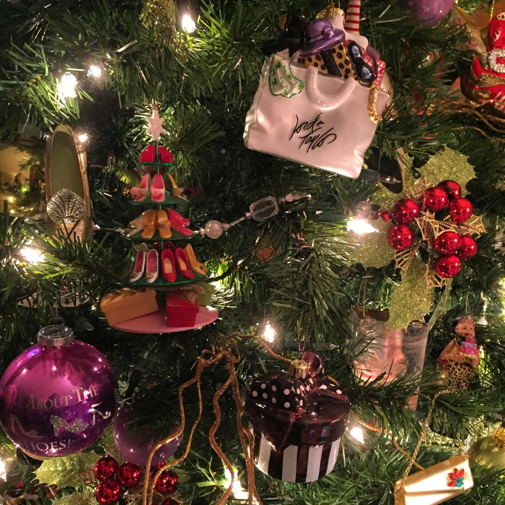 A few of our treasured ornaments.