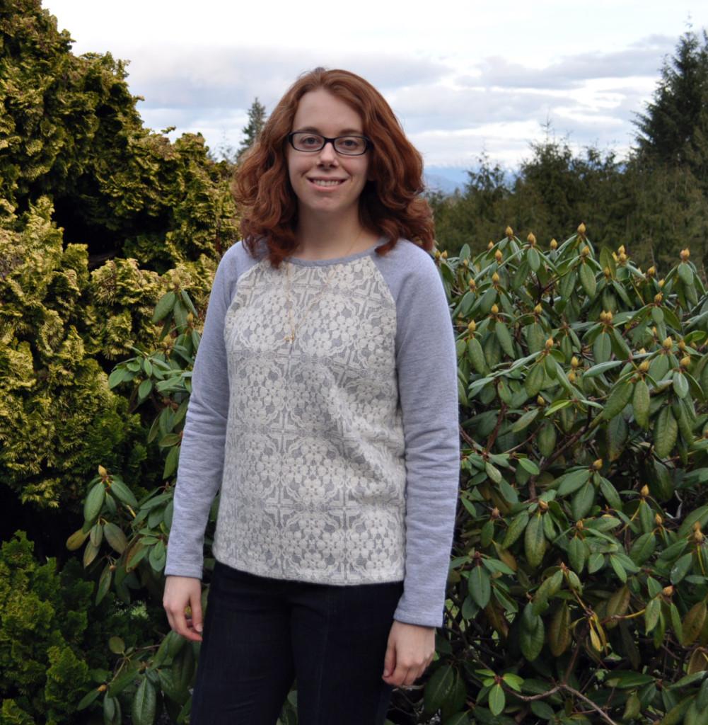 Lace Sweater Knit Linden Sweatshirt