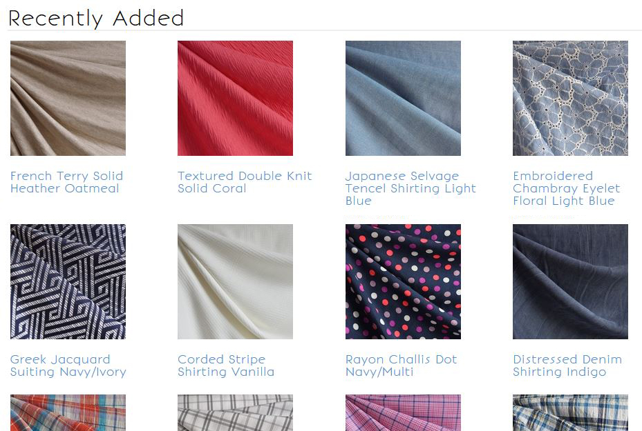 150+ New Spring Fabrics Now Available