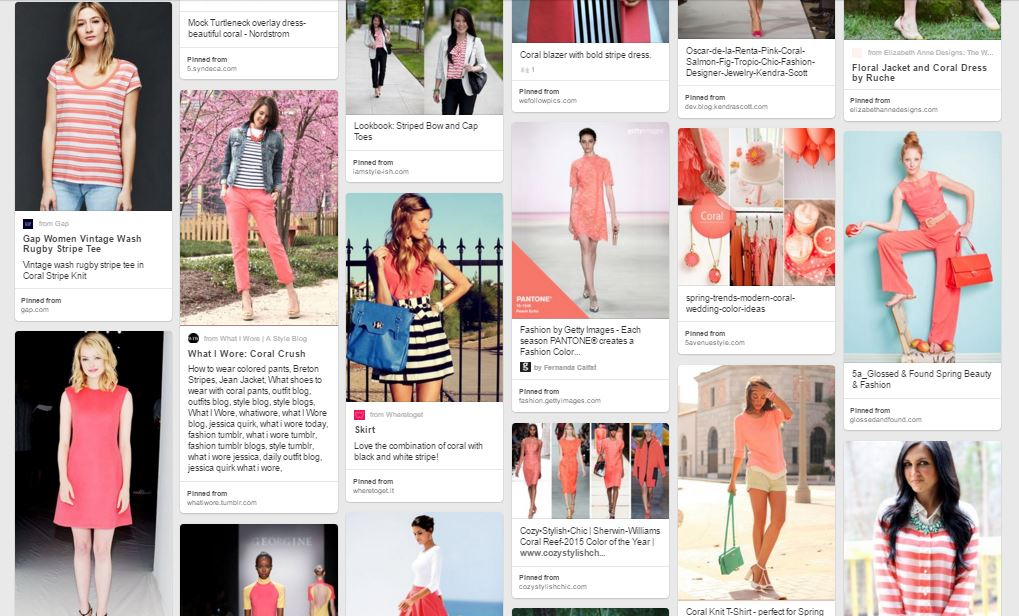 One of our favorite colors this spring- Coral