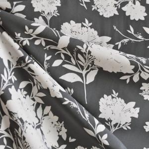 Modern Grey Floral