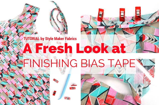 Finishing Tips for Bias Binding Collaborative Tutorial with Sew Mama Sew