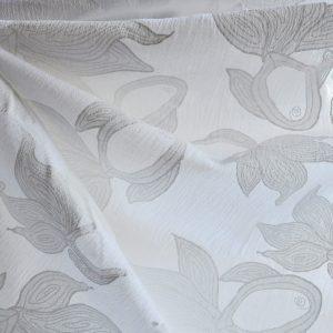 Printed White Gauze