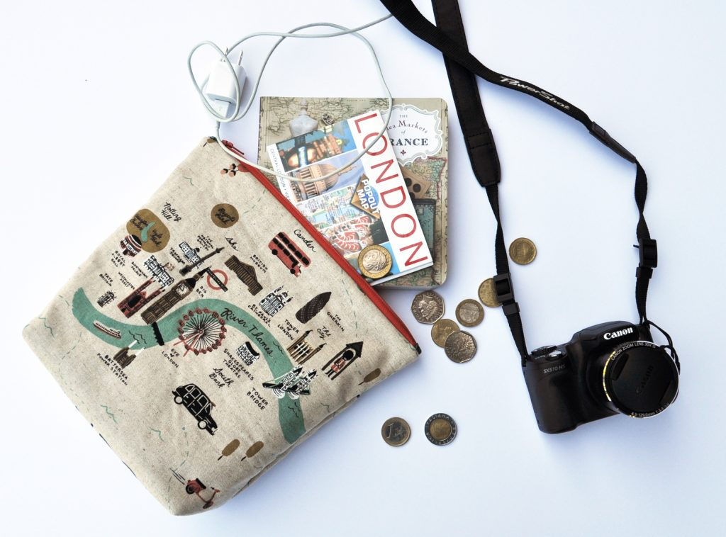 City Map Travel Pouch