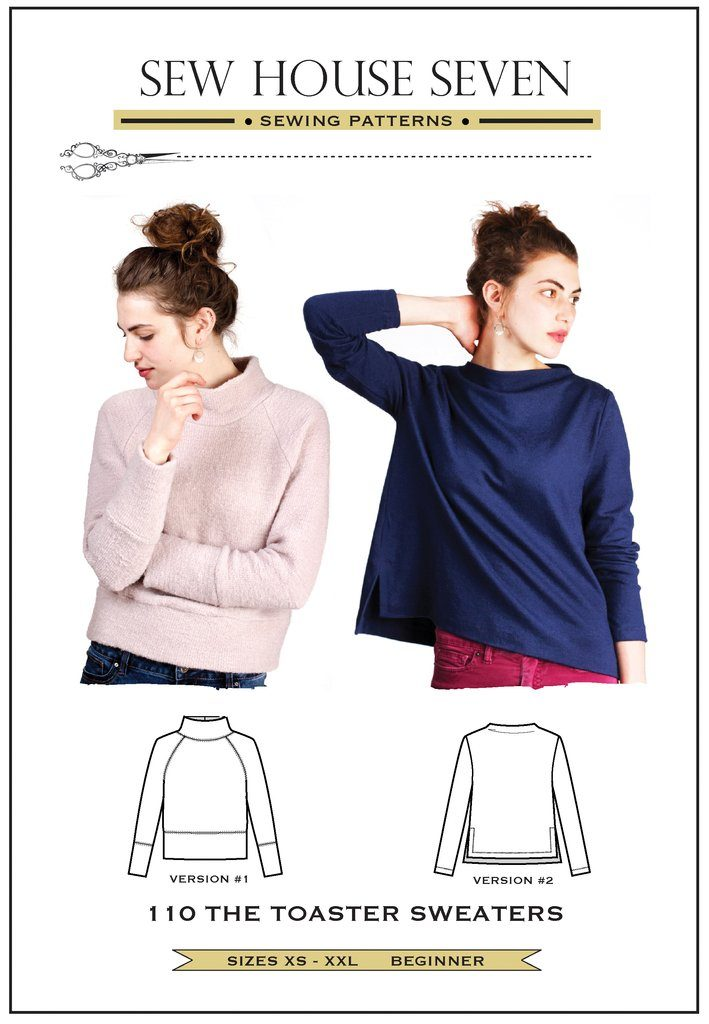 Sew House Seven Toaster Sweaters Pattern