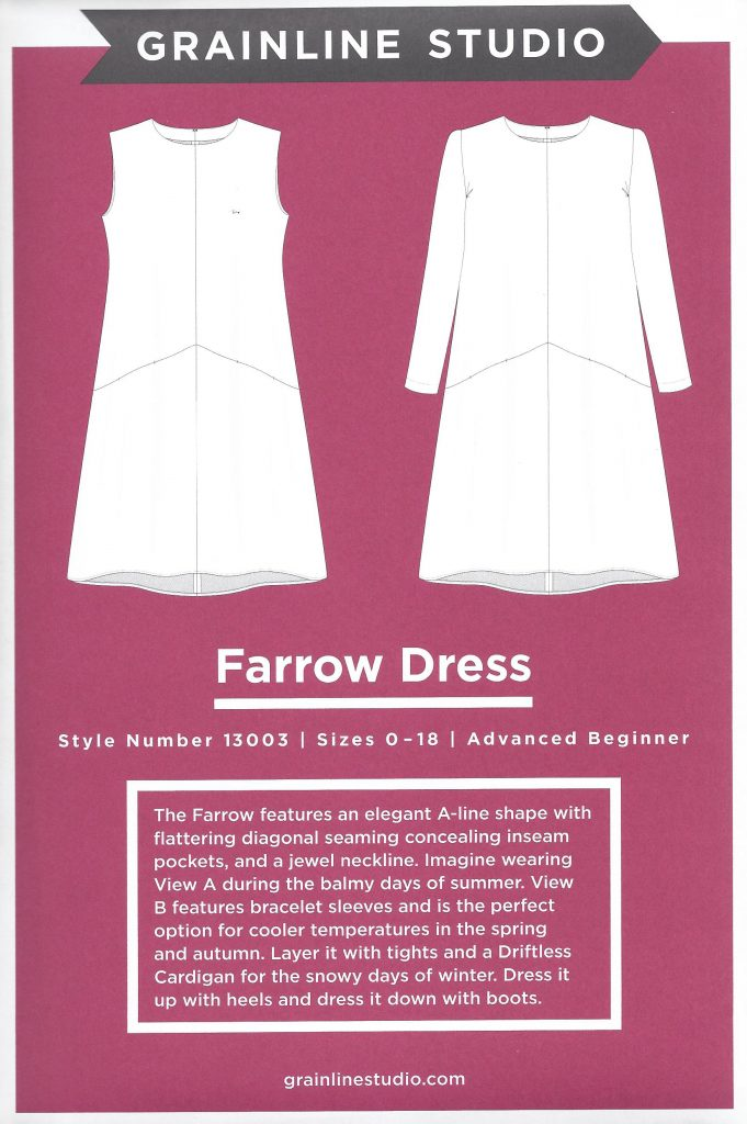 Grainline Studio's Farrow Dress Pattern
