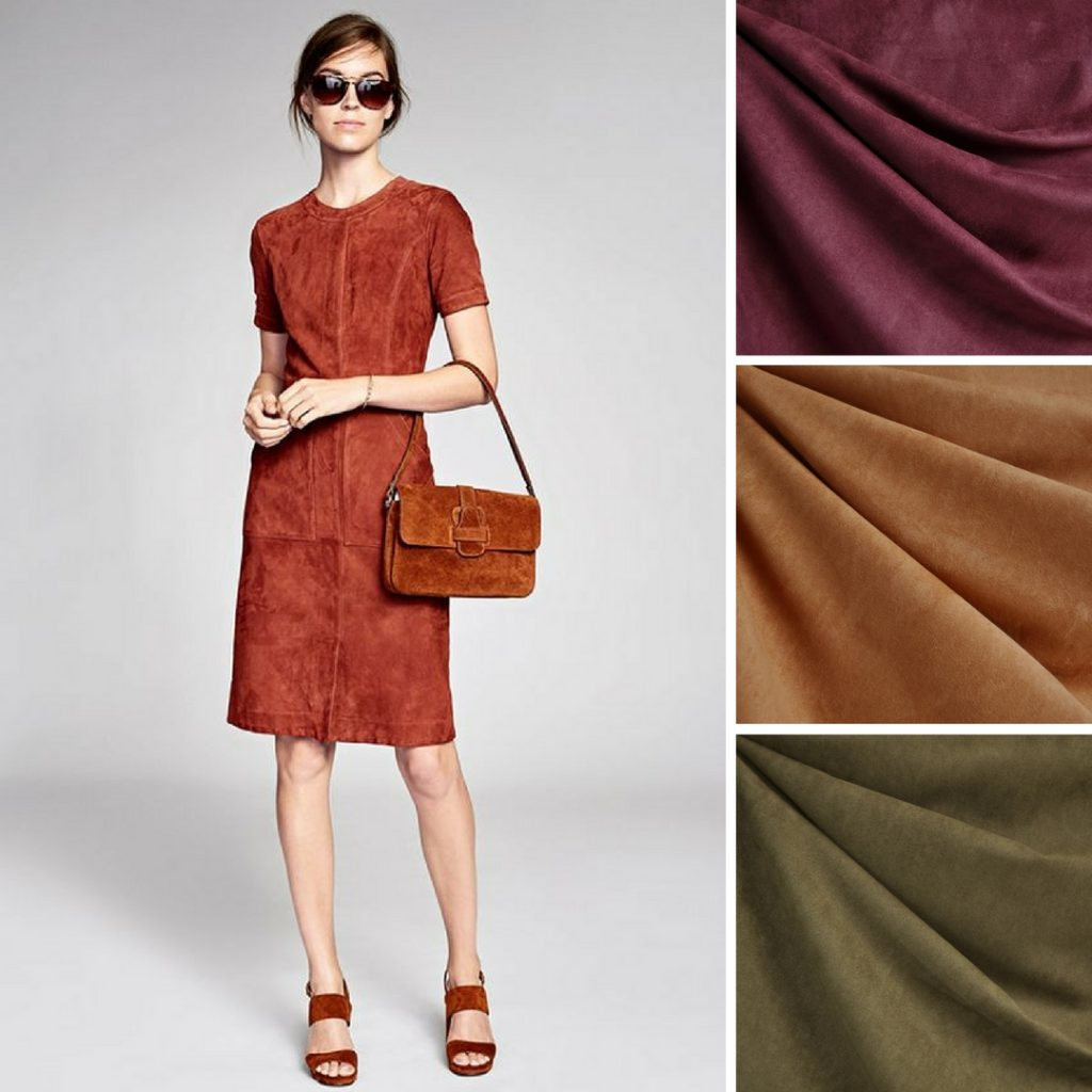 Farrow Dress Inspiration and Suede Shirting Colors