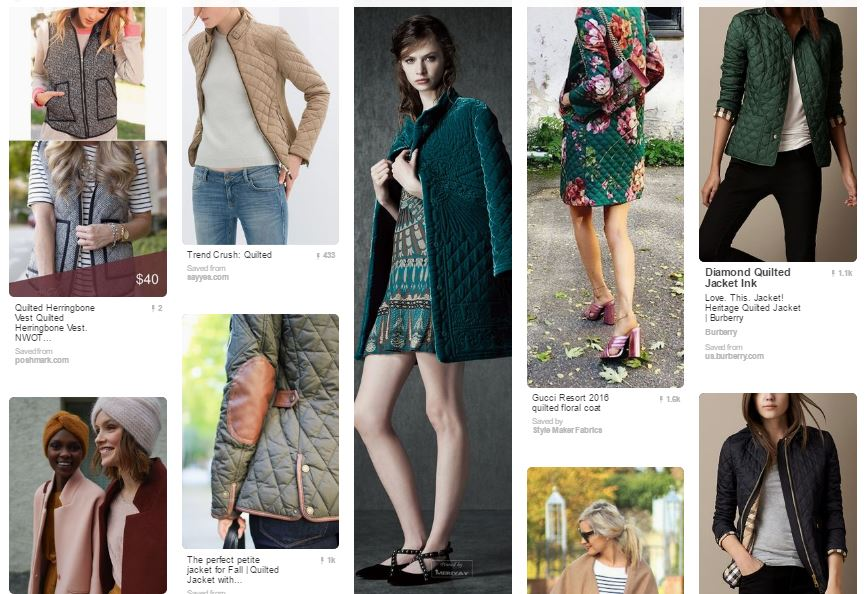 Outerwear Inspiration Pinterest Board