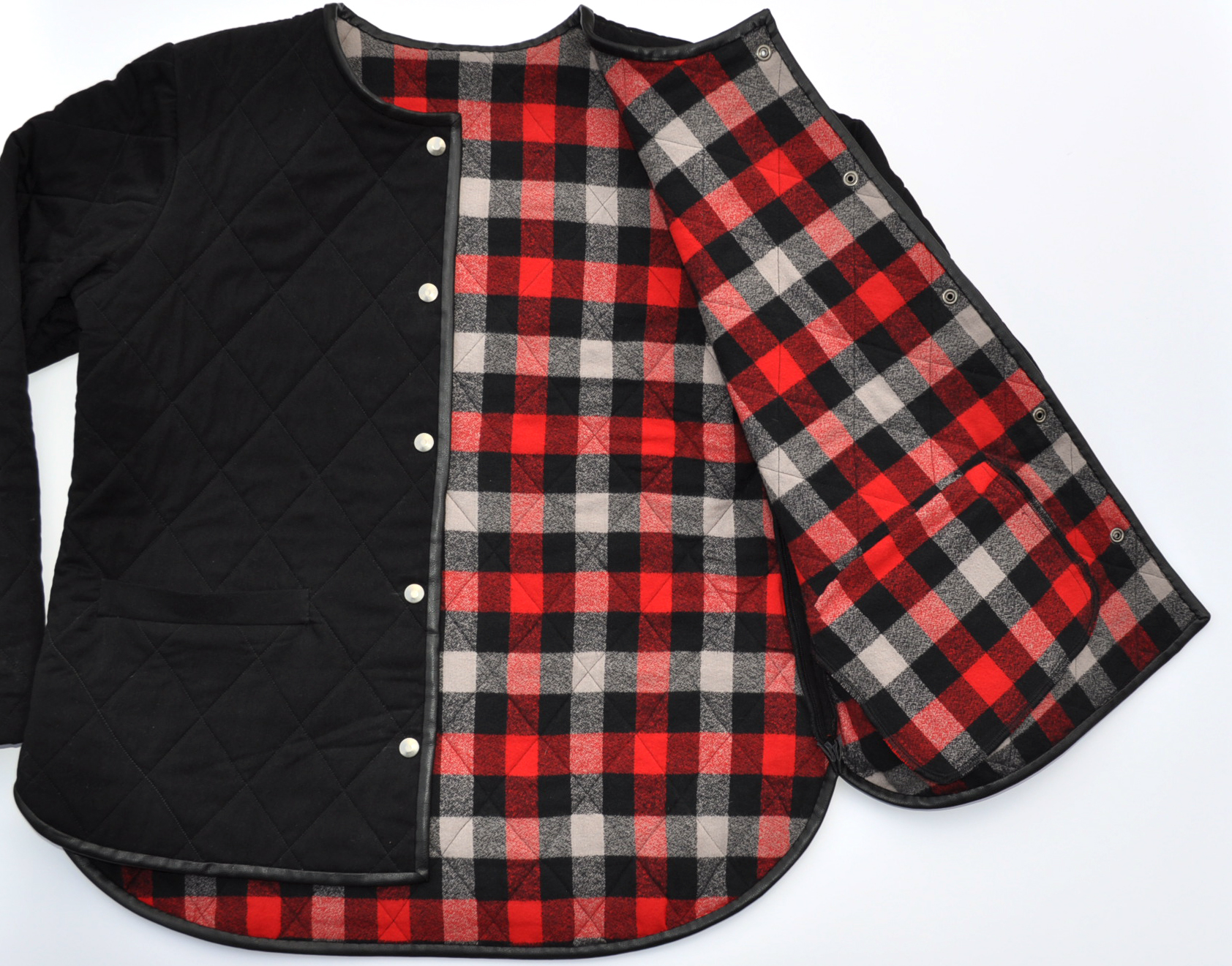 Classic Take on Grainline's Tamarack   Style Maker Fabrics