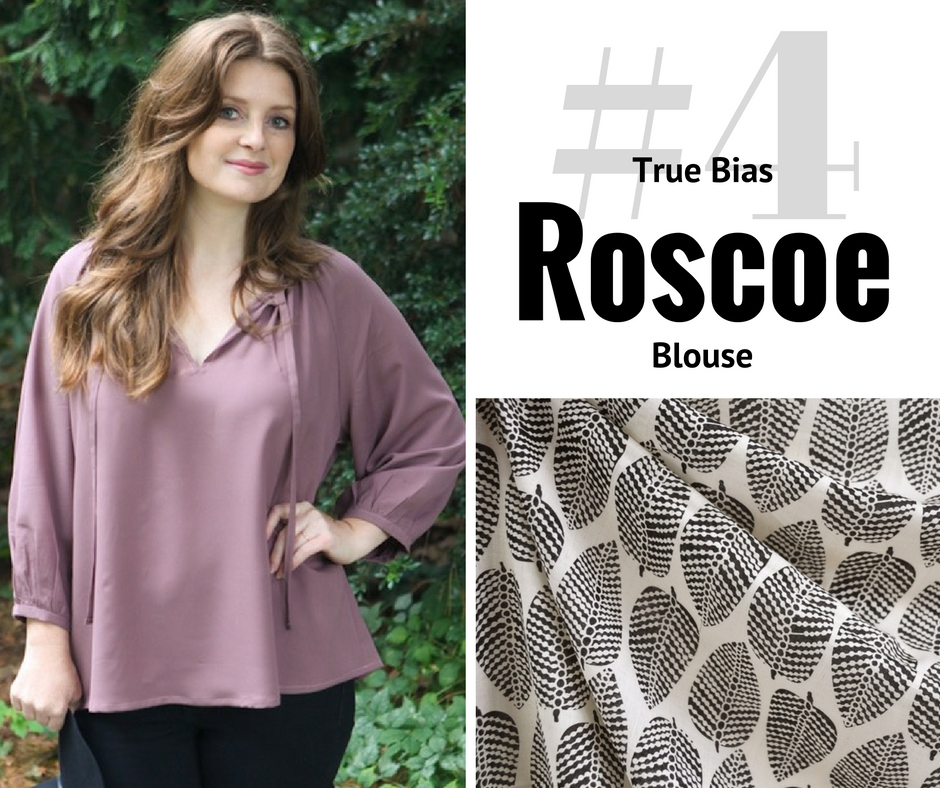 Style Maker Make Nine 2017 | True Bias Roscoe Blouse