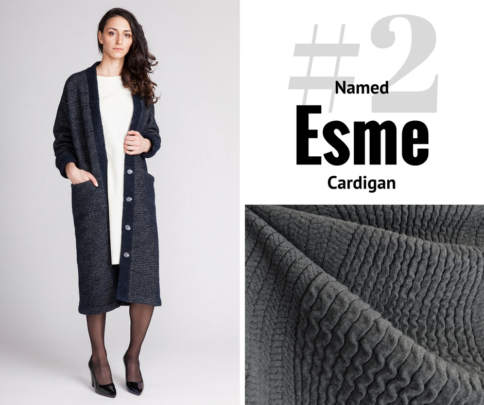 Style Maker Make Nine 2017 | Named Esme Cardigan