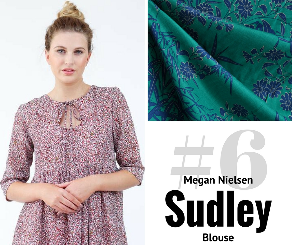 Style Maker Make Nine 2017 | Megan Nielsen Sudley Blouse