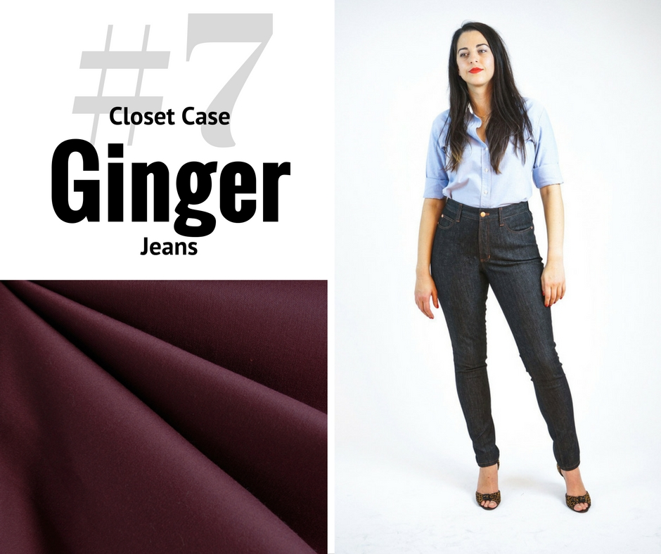 Style Maker Make Nine 2017 | Closet Case Ginger Jeans