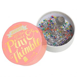 Pin and Thimble Set | Style Maker Fabrics Sewing Gift Guide