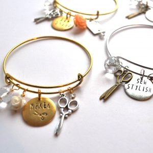 Style Maker Charm Bracelet | Style Maker Fabrics Sewing Gift Guide