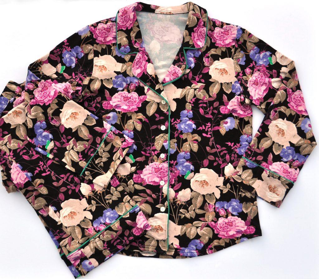 Floral Jersey Carolyn Pajama Set