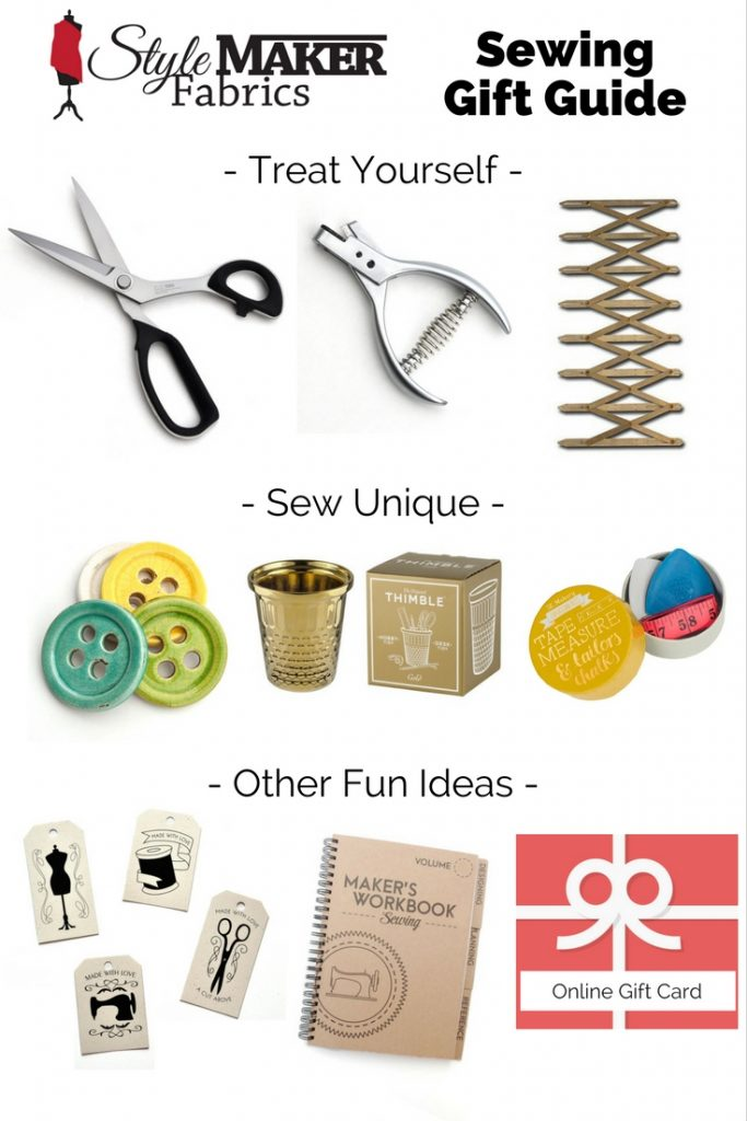 Style Maker Fabrics Sewing Gift Guide