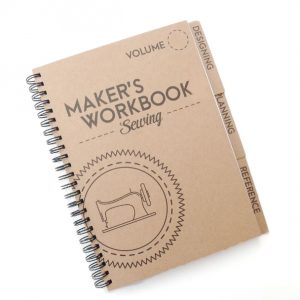 Maker's Sewing Workbook | Style Maker Fabrics Sewing Gift Guide