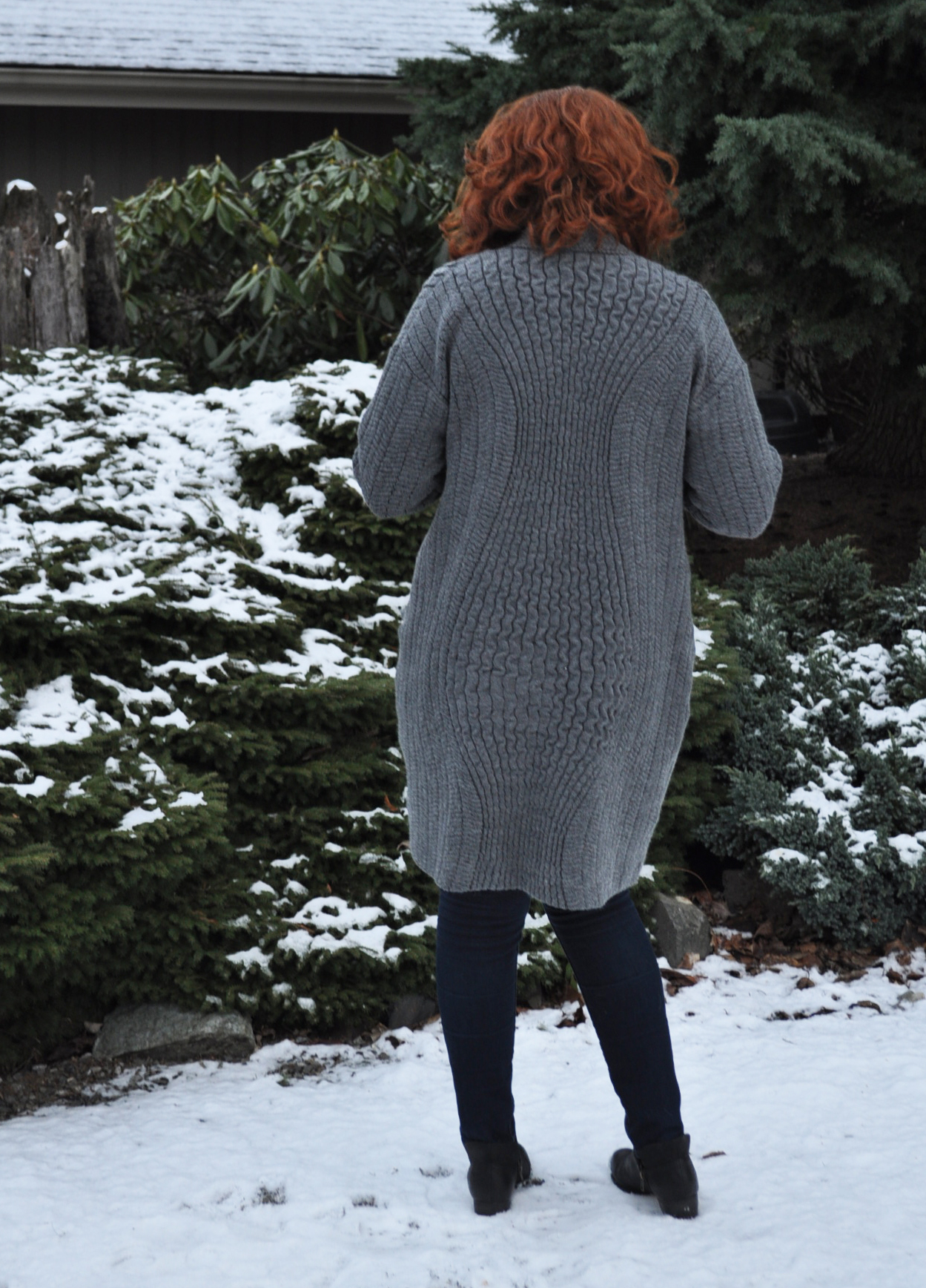 Esme Cardigan Back | Style Maker Fabrics