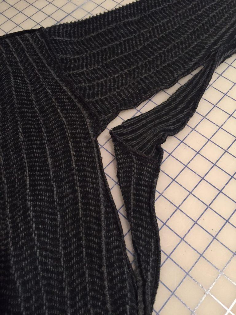 Altered Cardigan Underarm   Style Maker Fabrics