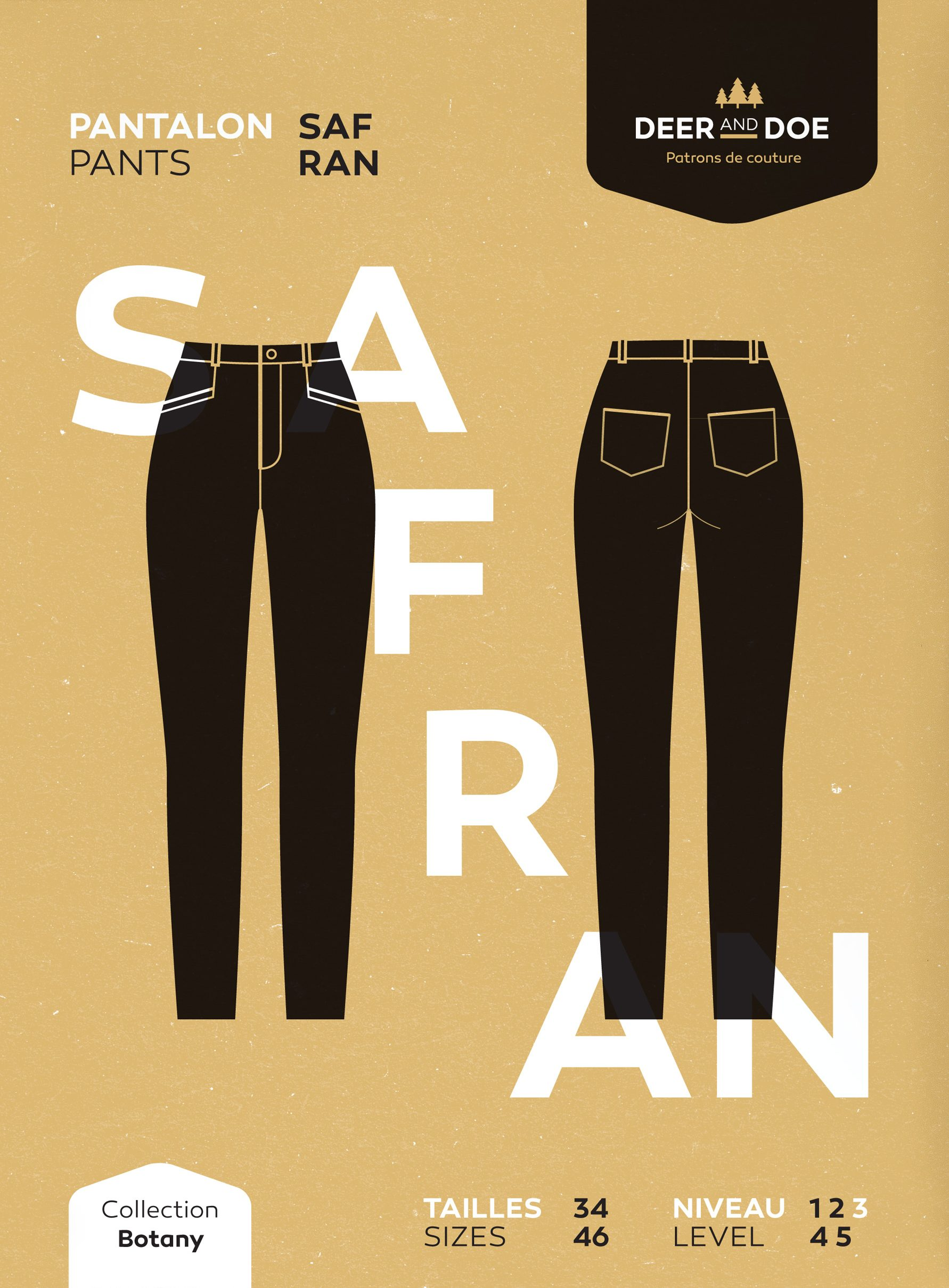 Deer & Doe Safran Pants | Style Maker Fabrics