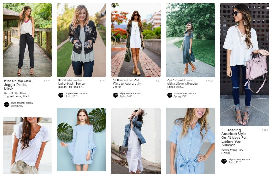 Spring Style Inspiration | Style Maker Fabrics