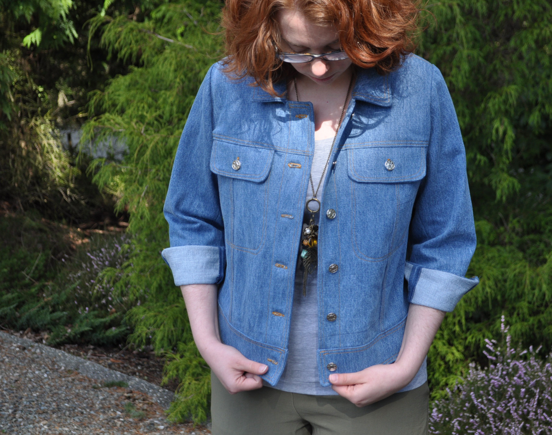 Maisa Selvage Denim Jacket | Style Maker Fabrics