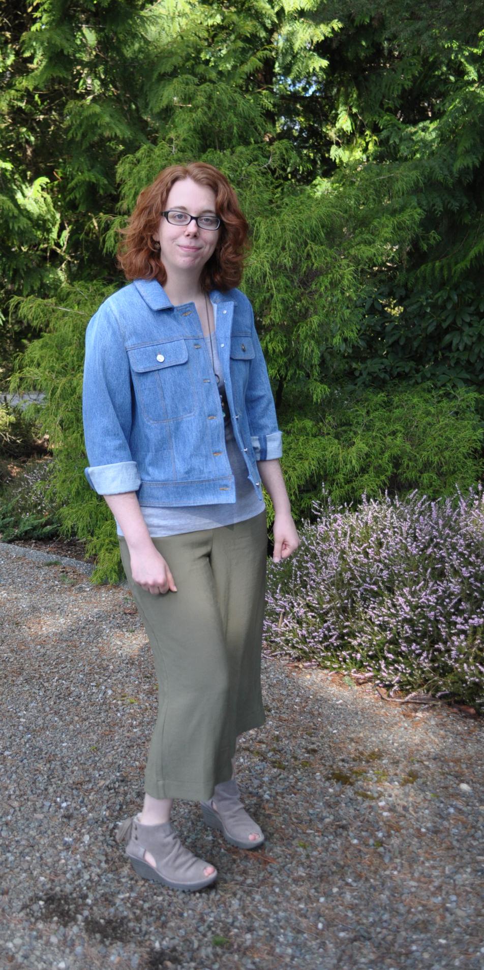Rayon Twill Flint Pants Front | Style Maker Fabrics