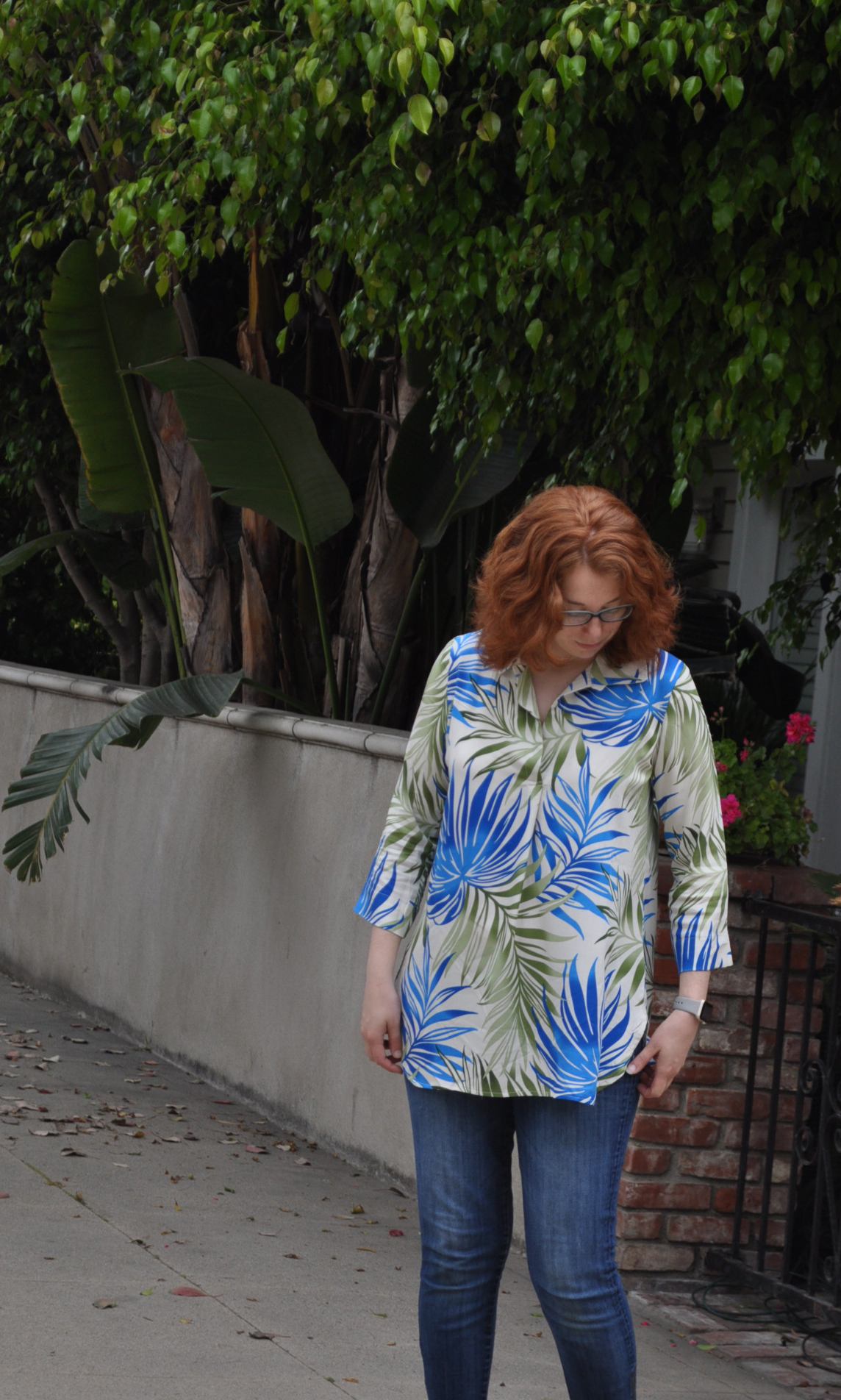 Tropical Gallery Tunic | Style Maker Fabrics