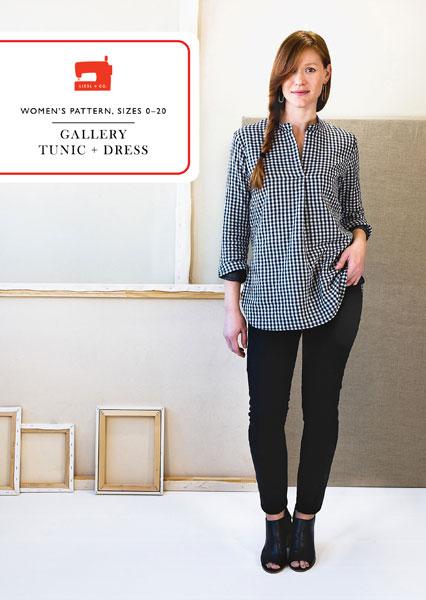 Gallery Tunic Pattern   Style Maker Fabrics