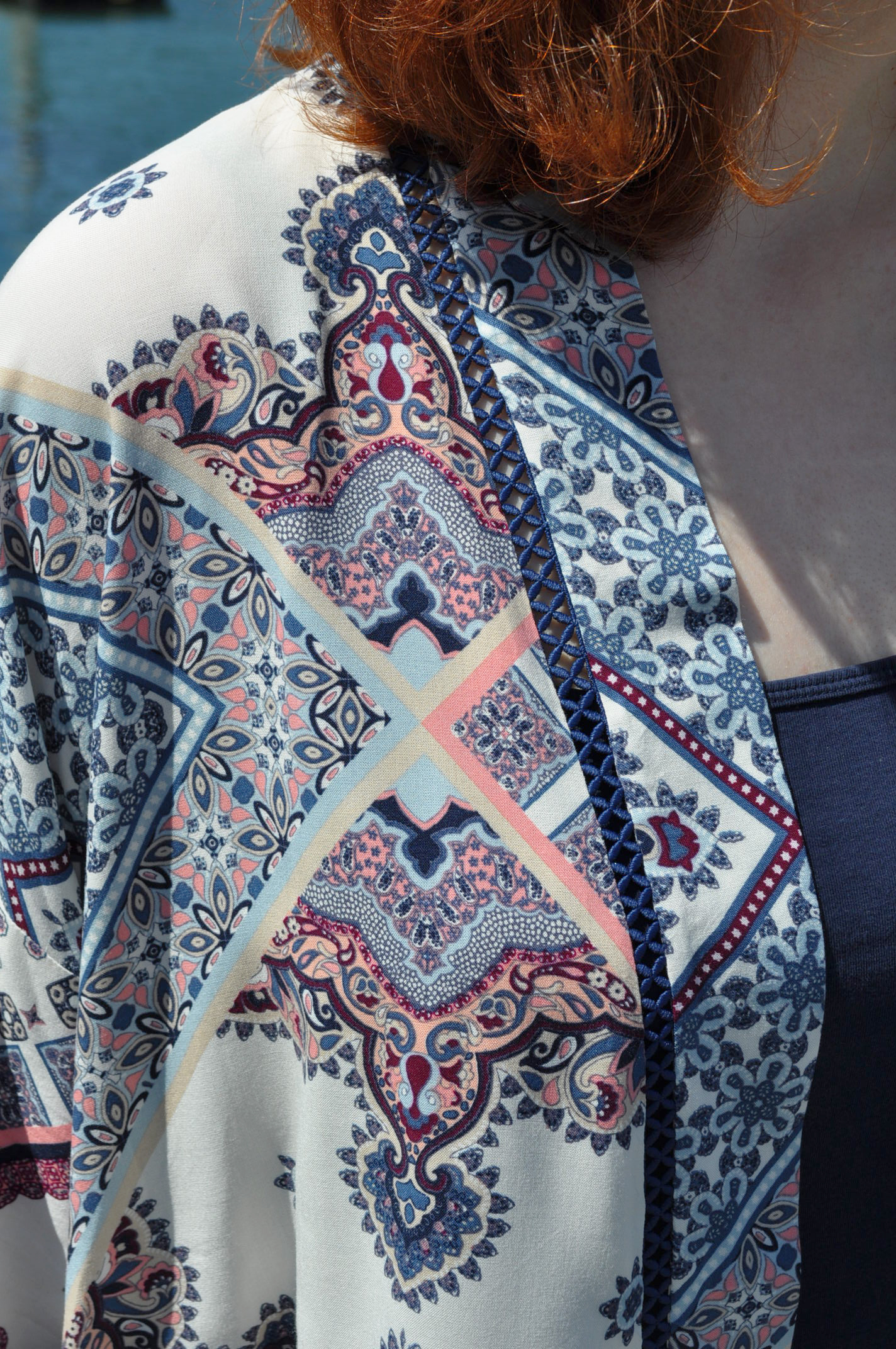 Kochi Kimono Trim Detail | Style Maker Fabrics
