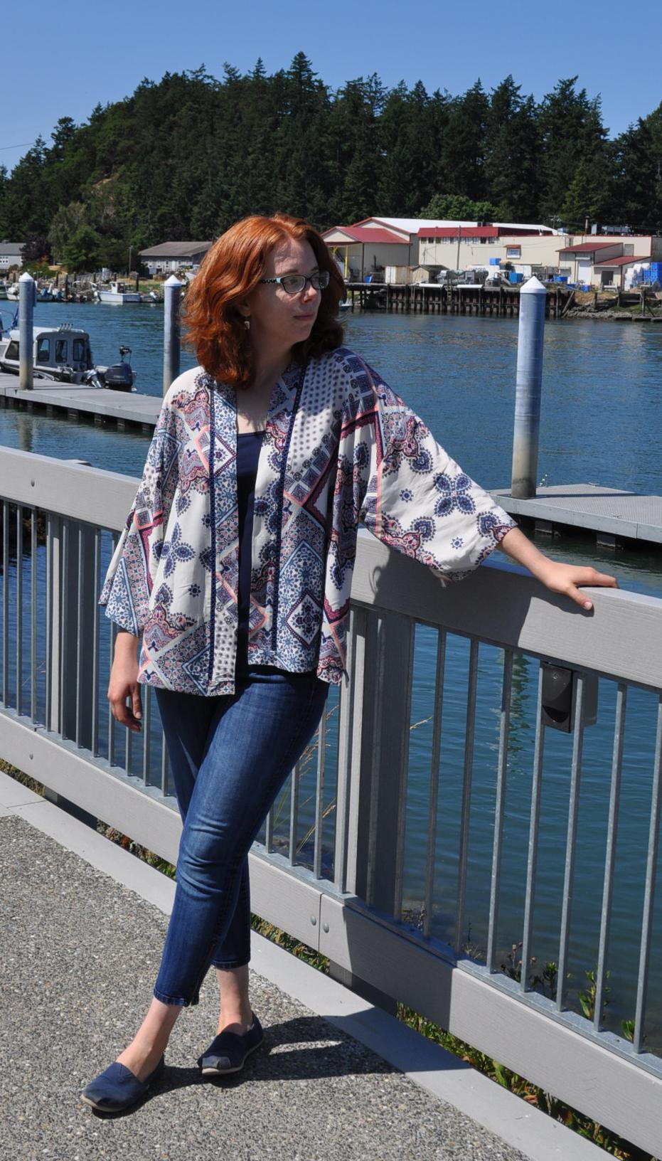 Kochi Kimono Front | Style Maker Fabrics