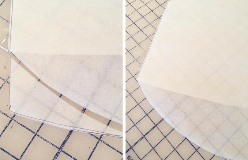 Trimmed Ebony Pattern Pieces   Style Maker Fabrics