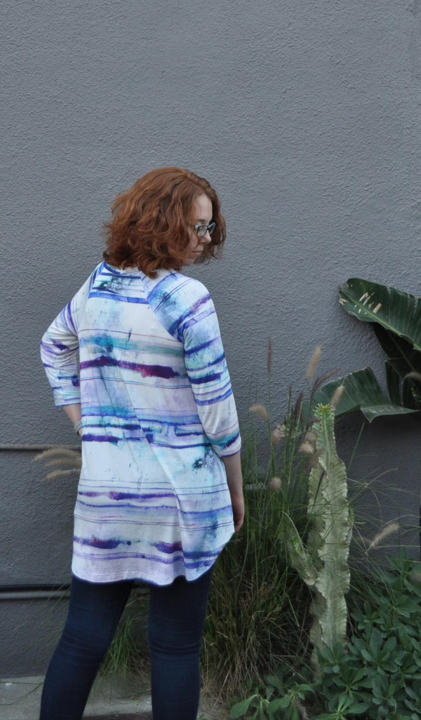 Watercolor Ebony Back   Style Maker Fabrics