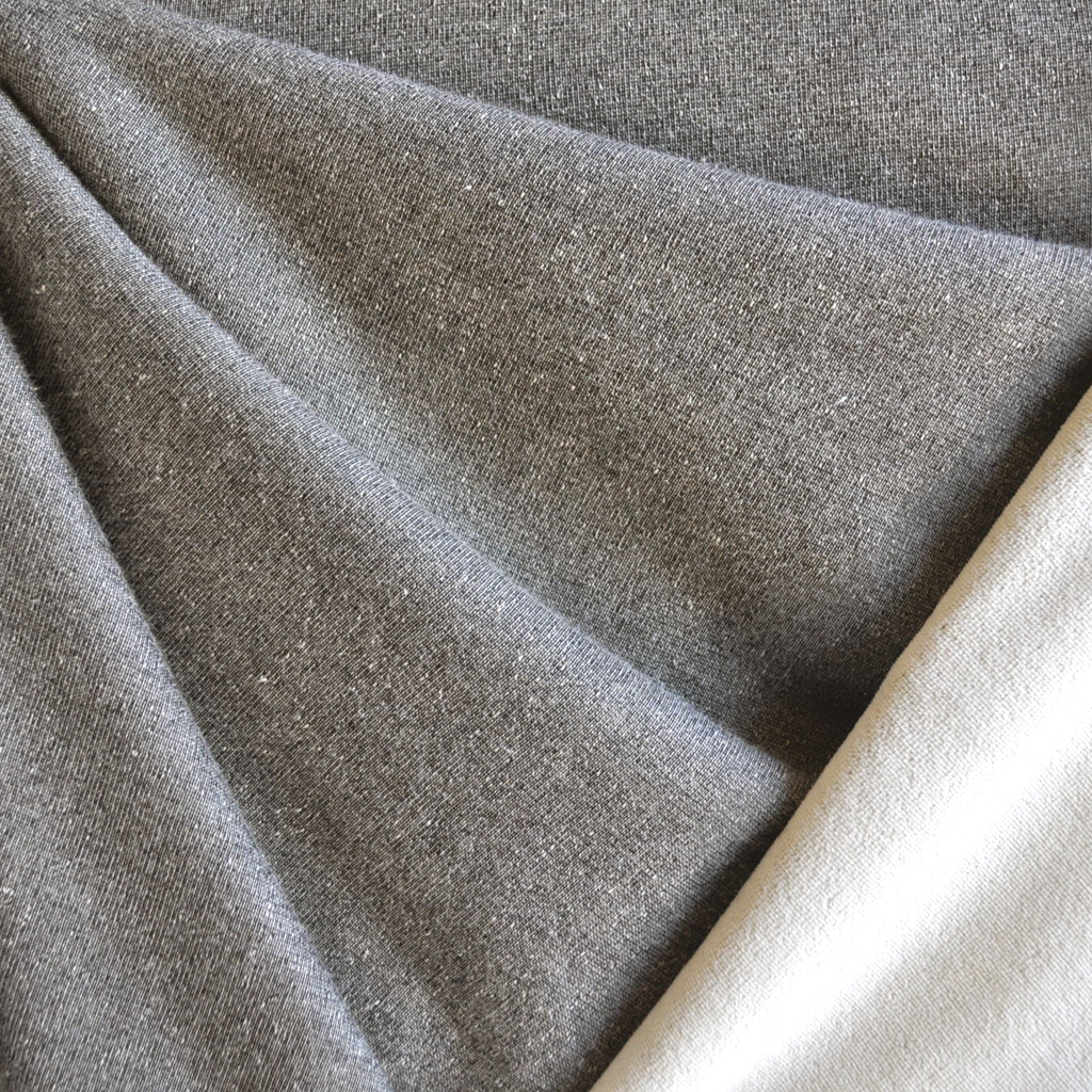 Style Maker Fabrics | Stretch Velour Taupe/Cream