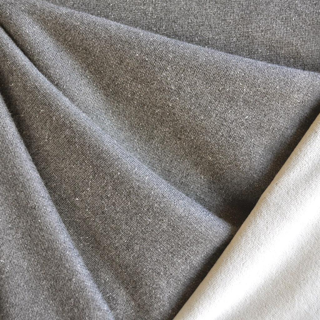 Style Maker Fabrics | Stretch Velour Taupe/Cream