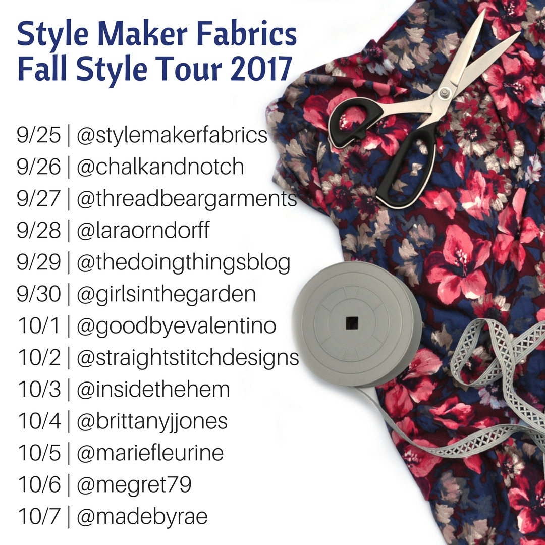 Style Maker Fabrics | Fall Style Tour Schedule