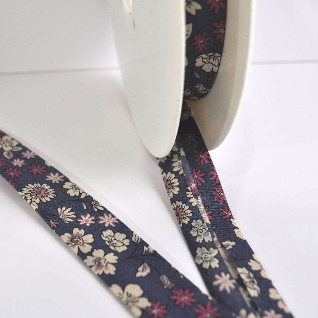 Floral Cotton Lawn Bias Tape | Style Maker Fabrics