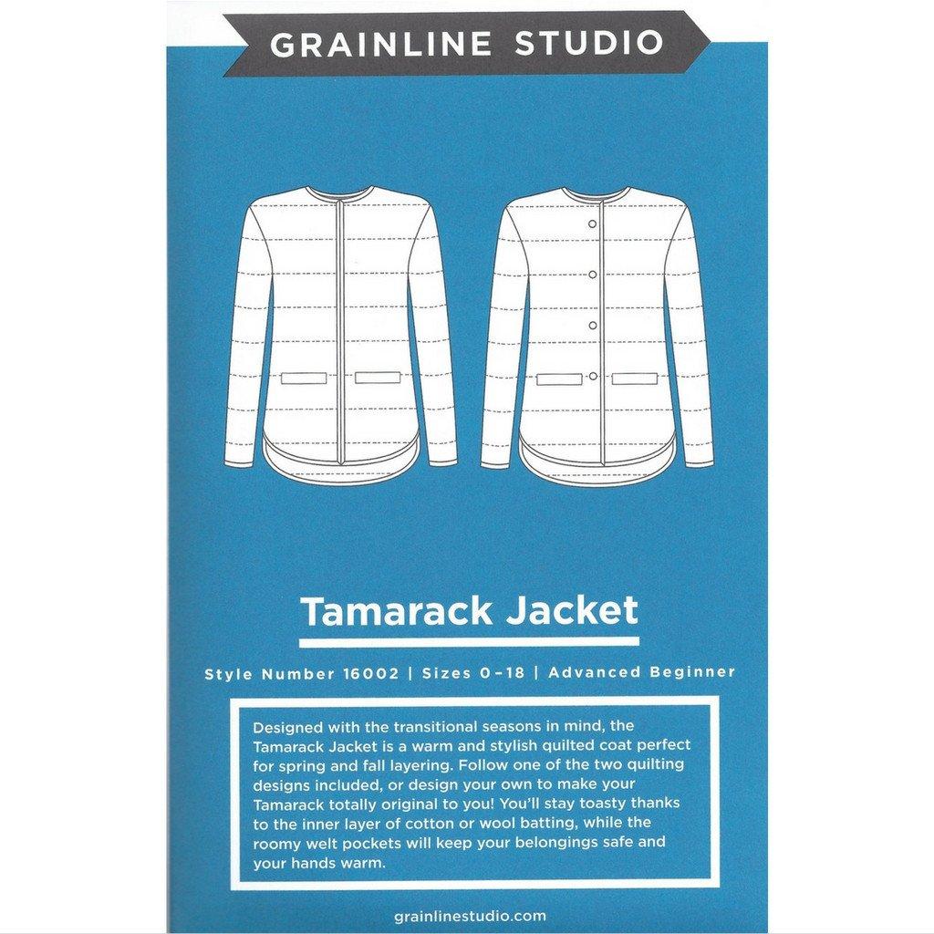 Grainline Studio Tamarack Jacket | Style Maker Fabrics