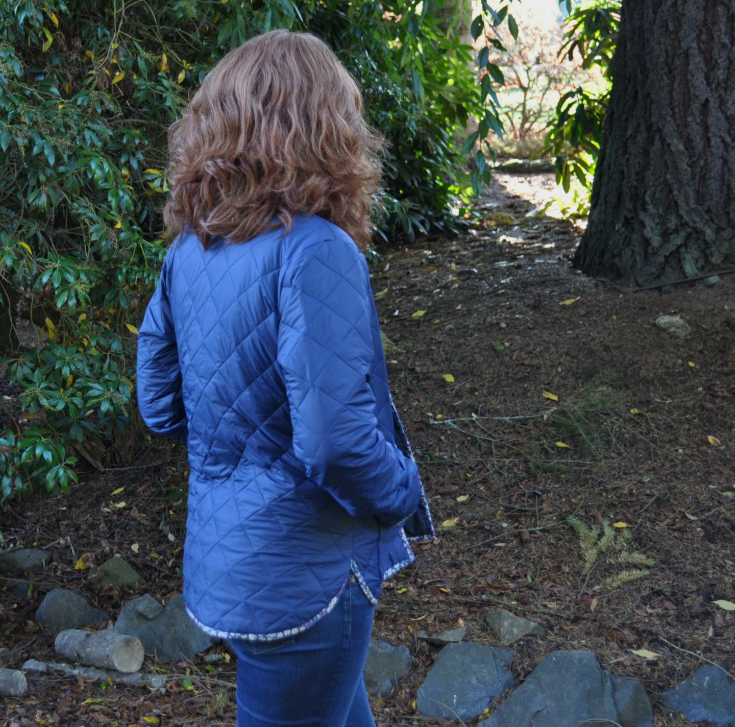 Nylon Tamarack Jacket Back | Style Maker Fabrics